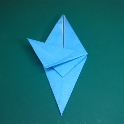 カワセミの折り紙11