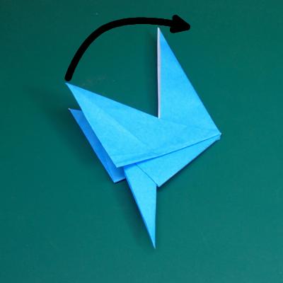 カワセミの折り紙13