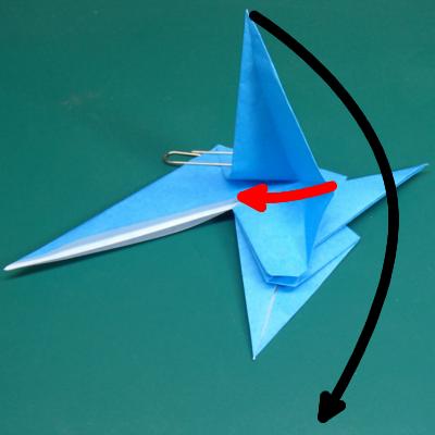 カワセミの折り紙15