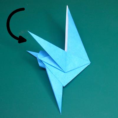 カワセミの折り紙17