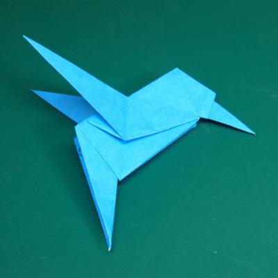 カワセミの折り紙21